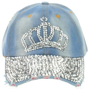 Spike Studded Crown Cap X26 30679