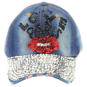 Love Paris Rhinestone Cap X26 30682-2