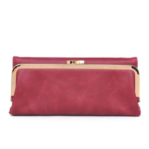 Classic Gold-Toned Framed Fold-Over Clutch 10547UR 30766 - Marsal