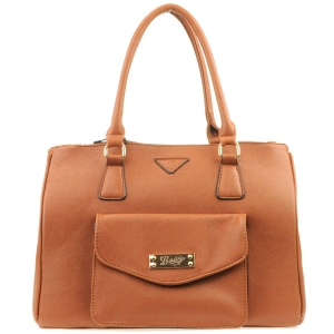 Front Pocket Classic Tote X48 30973 BROWN
