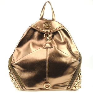 NX Rhinestone Studded Sides Backpack CHO 31002 BRONZE