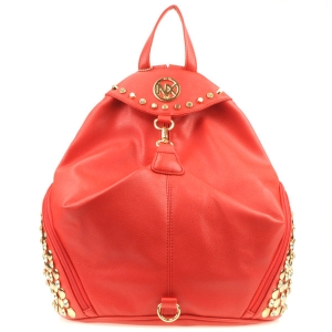 NX Rhinestone Studded Sides Backpack CHO 31002 RED