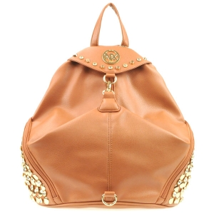 NX Rhinestone Studded Sides Backpack CHO 31002 TAN