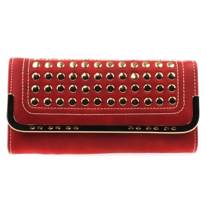 Studded Wallet X27 31387 RED