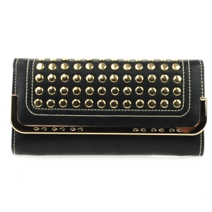 Studded Wallet X27 31387 BLACK