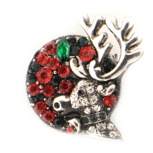 Christmas Reindeer Brooch X26 31652 RED