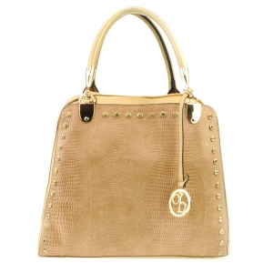 Studded Tall Tote X33 31793 GOLD