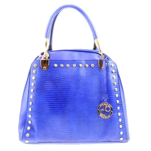 Studded Tall Tote X33 31793 ROYAL BLUE