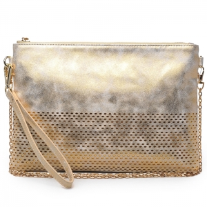 Urban Expressions Zane Original Clutch 10776 - White Gold