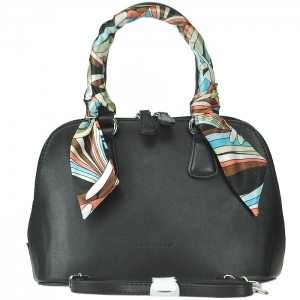 Original David Jones Petit Alma Style Handbag - 3842-1 - Black