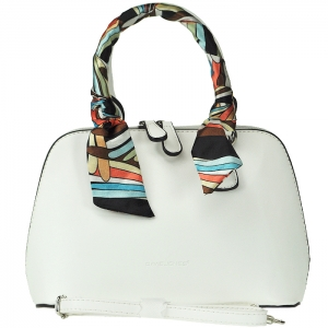 Original David Jones Petit Alma Style Handbag - 3842-1 - White