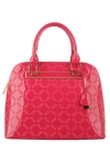 Faux Patten Leather Original David Jones Handbag Pattern Design -Rose