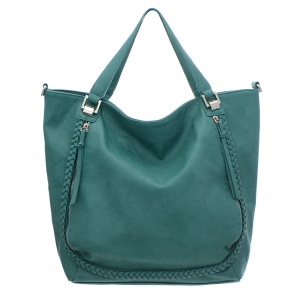 Urban Expressions Delaynie Vegan Leather Tote Bag 35234 - Teal