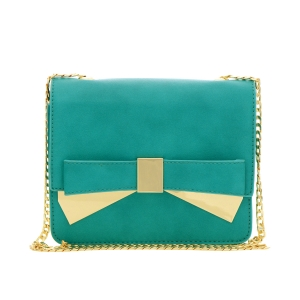 Urban Expressions Bette Clutch Purse 35325 - Teal