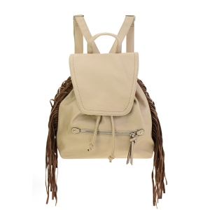 David Jones Fringe Backpack 35370 - Sand