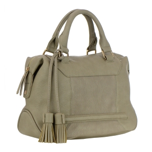 Urban Expressions Holden Vegan Leather Handbag 35466 - Taupe