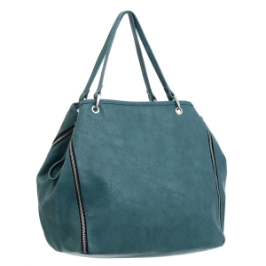 Urban Expressions Private Party Vegan Leather Handbag 35729 - Sea Green
