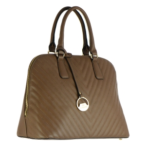 David Jones Faux Leather Handbag CM2772 36449 - Brown