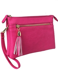 2 Compartments Messager Bag Designer  WU021 PINK