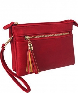 2 Compartments Messager Bag Designer  WU021 RED