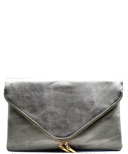 Large Clutch Design Faux Leather Classic Style WU024