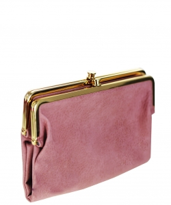 Urban Expressions Faux Leather Wallet  Metal hardware Complements Classic Style 7287A-UR  37190 LILAC