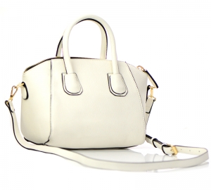 Messenger Purse Faux Leather BGT63121 37200 White