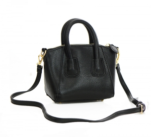Mini Messenger Purse Faux Leather BGS7551 37213 Black