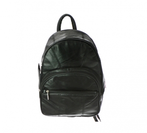 Roma Faux Leather Backpack 3303-R 37267 Black