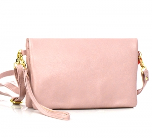 Faux Leather Wallet CH711-DP 37330 Pink