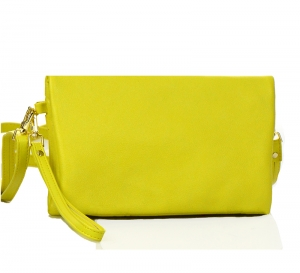 Faux Leather Wallet CH711-DP  37330 Yellow