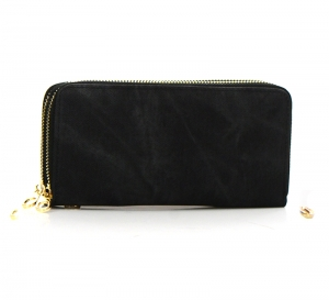 Denim Wash Wallet WXDK828 37416 Black