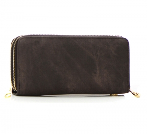 Denim Wash Wallet WXDK828 37416 Brown