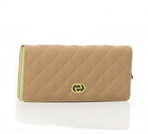 Faux Leather Wallet US1054 37456 Tan