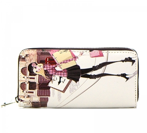 European Girl Faux Leather Wallet GWT99-1860 37687
