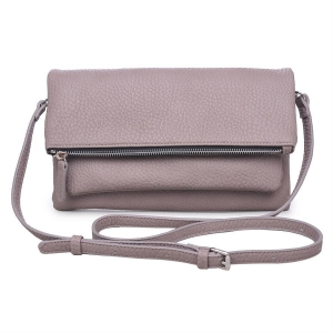 Urban Expressions: Fiona Style Clutch Leather 11773-UR  37920 Taupe