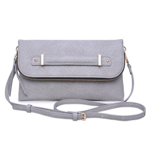 Urban Expressions: Style Saint Clutch Leather 11924-UR 37928 Stone