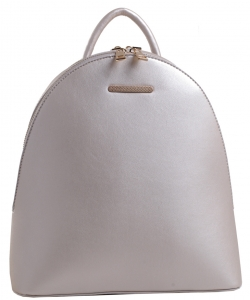 Modern Hot Trendy Backpack PS1589 SILVER