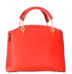 Faux Leather Handbag BH600 LRED