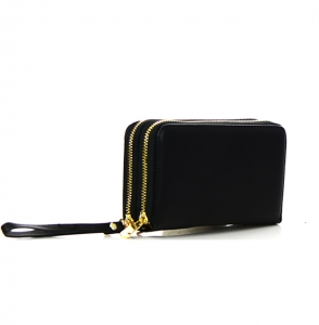 Faux Leather Wallet KB0006 38120 Black