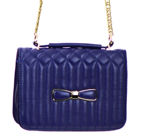 Faux Leather Clutch Purse GBG99-1141 38154 blue