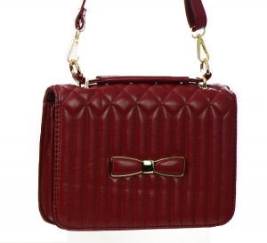 Faux Leather Clutch Purse GBG99-1141 38154 Red