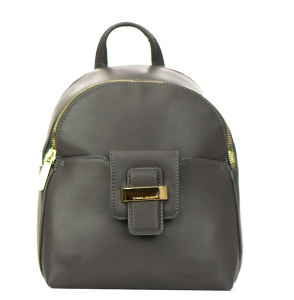 David Jones Faux Leather Backpack 52033 38248 Grey