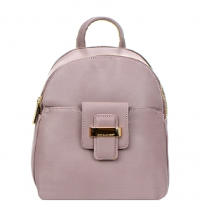 David Jones Faux Leather Backpack 52033 38248 Pink