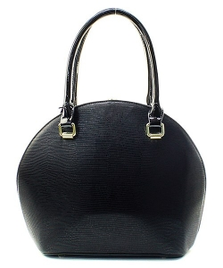 Satchel Round Shaped Rhinestone Handbag KTN61957 38309 Black