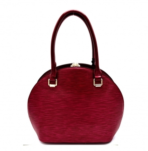 Satchel Round Shaped Rhinestone Handbag KTN61957 38309 Burgandy
