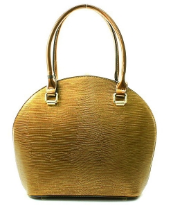 Satchel Round Shaped Rhinestone Handbag KTN61957 38309 Gold