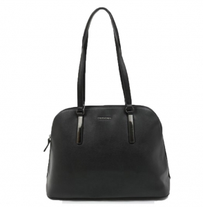David Jones Faux Leather Handbag 52003 38353 Black