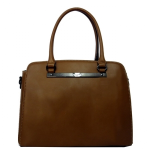 David Jones Faux Leather Handbag CM3204 38380 Brown