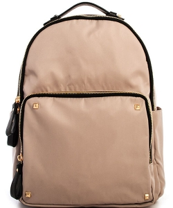 Nylon Backpack BGS-4511 38794 LGREY